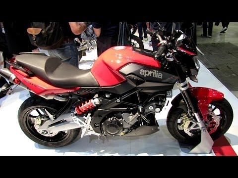 2014 Aprilia Shiver 750 ABS Walkaround - 2013 EICMA Milan Motorcycle Exhibition
