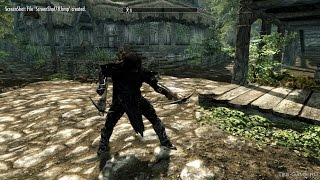 Стрельба из арбалетов с одной руки мод на Skyrim