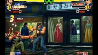 King of Fighters 2000 Combos