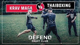 German KRAV-MAGA-Fighter vs. Kurdish THAIBOXER    MMA   DFC