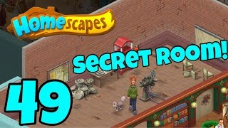 HOMESCAPES - Gameplay Walkthrough Part 49 - New Cinema Area and Library Area Day 4