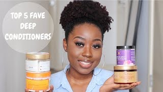 Top Five Deep Conditioners For Moisture And Length Retention | Type 4 Natural Hair