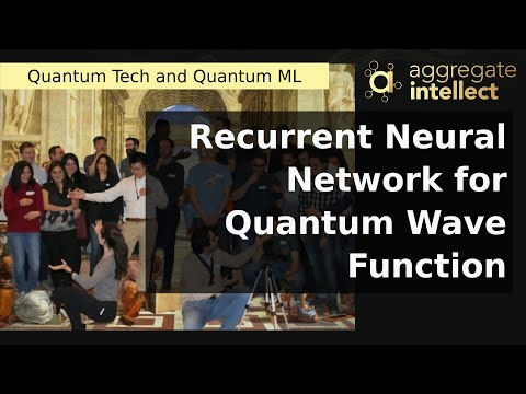 Recurrent Neural Network for Quantum Wave Function