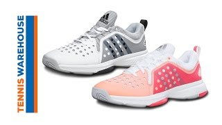 Adidas Barricade Classic Bounce Women's Tennis Shoes video