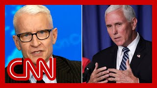 Anderson Cooper slams 'lies and noise' from Mike Pence