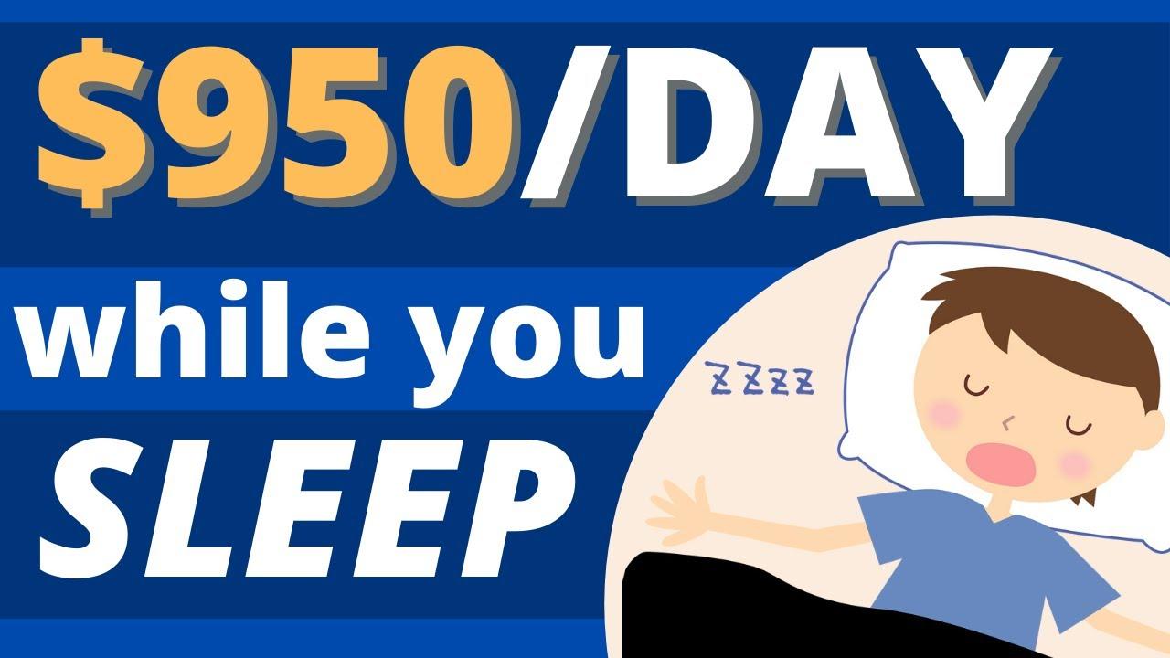 Make $950 Daily While You Sleep (Earn Money Online) thumbnail