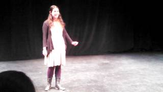 Rivka sings Simple Joys of Maidenhood from Camelot