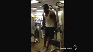 "Working out with that Ace Hood ""How I'm Raised!"