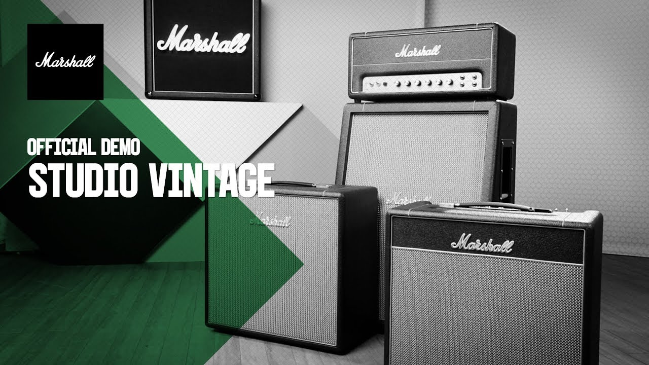 Marshall SV20H Studio Vintage 1959SLP Video