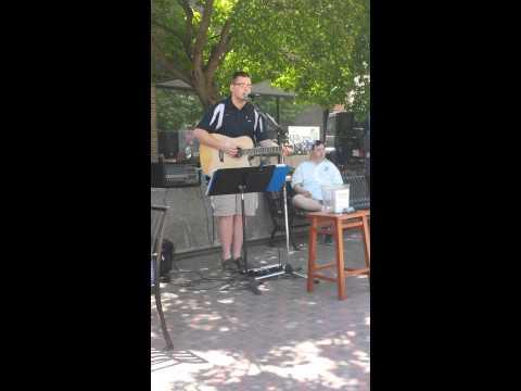 Garrett Hillary Dubuque365 Lunchtime Jam- Piano Man