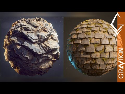 3ds max  how to make photo realistic pbr materials by graviton studio