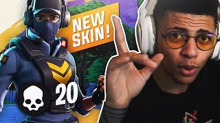 20 KILL GAME WITH *NEW* WAYPOINT SKIN! Ft. TSM Chica (Fortnite Battle Royale Season 7)