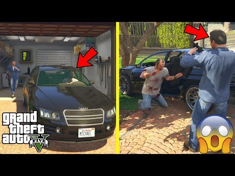 GTA 5 - What Happens If You STEAL MICHAEL'S CAR