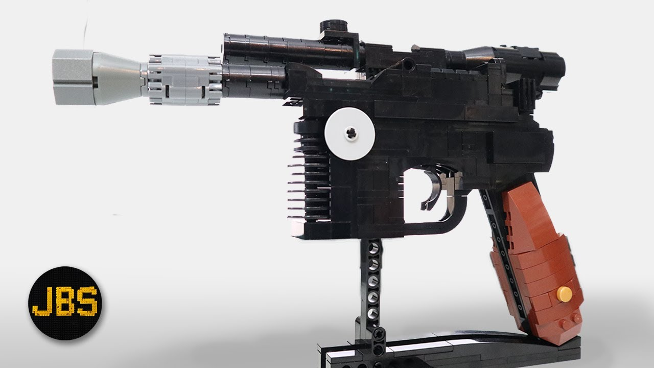 LEGO Han Solo Blaster Review and Build - MOC by Build Better Bricks
