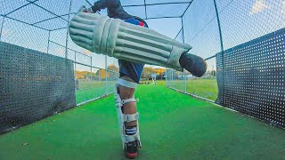 GoPro Batting Practice Net Session || How to Play Late Shots Preseason Batting ||P'sCTV20|| (Ep 31)