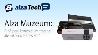 Alza Muzeum: Proč jsou konzole limitované, ale nikomu to nevadí? - AlzaTech #491