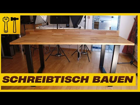 Schreibtisch/Gaming-Tisch selbst bauen - Mein DIY Computertisch