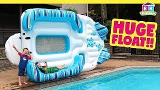 BIGGEST Pool Float EVER! | Huge H20 GO Float!