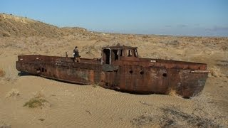 The Dried up Aral Sea Eco-Disaster