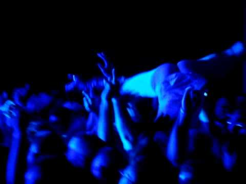 Girl Crowd Surfing at Chevelle