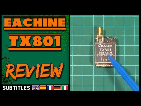 Eachine TX801 - Review