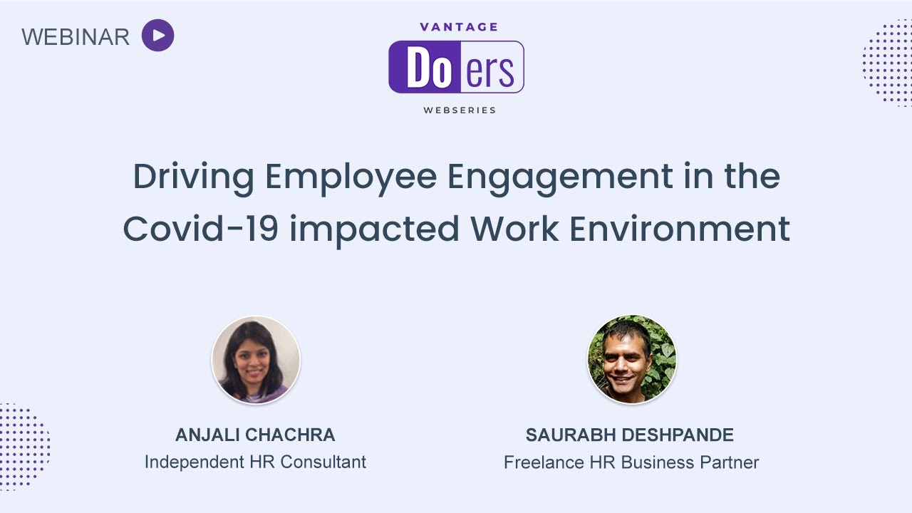 [On-demand Recording] Driving Employee Engagement in the COVID-19 Impacted Work Environment