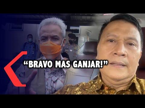 Ganjar Salahkan Diri Soal Banjir, PKS: Bravo Mas Ganjar!