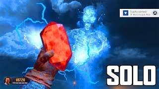 BLOOD OF THE DEAD - SOLO EASTER EGG FULL GAMEPLAY! (Black Ops 4 Zombies)