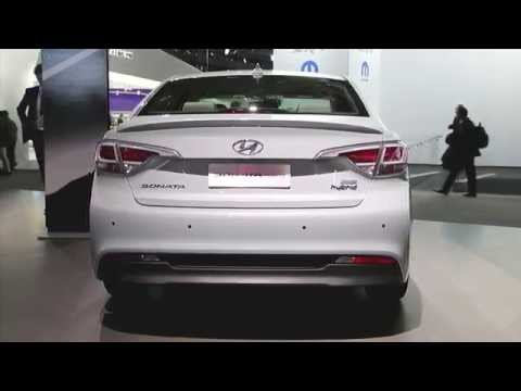 2016 Hyundai Sonata Hybrid And Plug-In Hybrid Preview: 2015 Detroit Auto Show