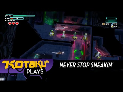 Never Stop Sneakin' Is A Stealth Game For People Who Hate Stealth