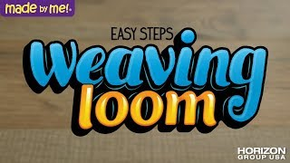 How to Use the Made By Me Weaving Loom