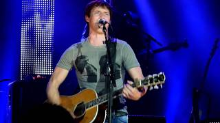 James Blunt - These Are The Words live in Halle Westfalen Gerry Weber Stadion  08-10-2011
