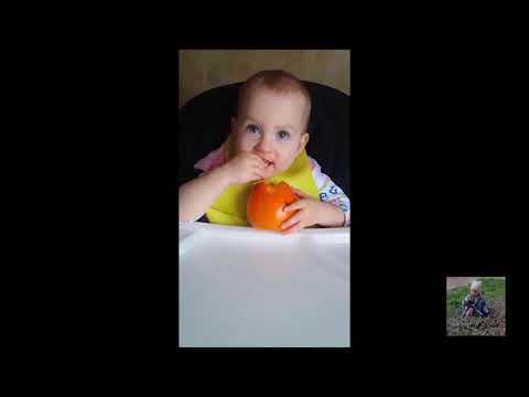 Ну, очень вкусная хурма попалась - Well, very tasty persimmon caught