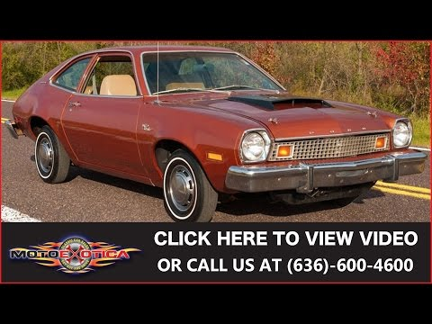 1976 Ford Pinto Turbo || SOLD