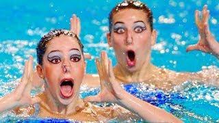 Фото Пловчих Синхронисток, От Которых Вы Умрете Со Смеху