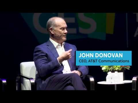 AT&T Communications CEO John Donovan | CES 2019-youtubevideotext