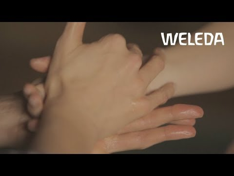 Weleda Tutorial: Handmassage