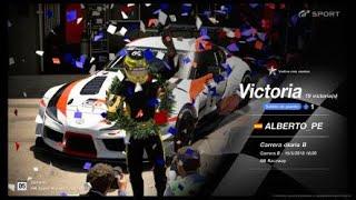 🚩Gran Turismo SPORT Online🚩 Road to Trophy, Record de victorias, 19 Victorias, C.B. Toyota GR Supra