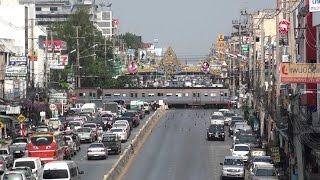 preview picture of video '【Royalty Free Material】SRT #71 crossing Phahongyoting at Saraburi'