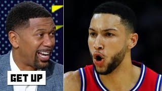 Jalen Rose reacts to Ben Simmons' first made 3-pointer for the 76ers | Get Up