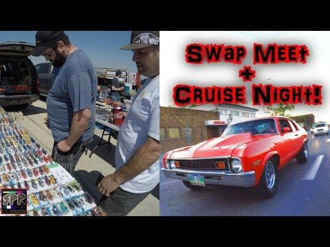 Automotive Swap Meet and Sunday Night Cruising | Rob's TT LS Nova gets into BOOST on the Street