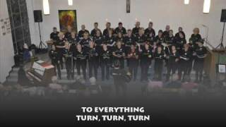 """Turn turn turn (Byrds) vom Chor """"Um Himmels Willen"""" (mit Text/with lyrics)"""