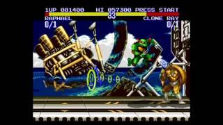 Черепашки Ниндзя  турнирные бойцы игра для приставки Сега онлайн или скачать бесплатно