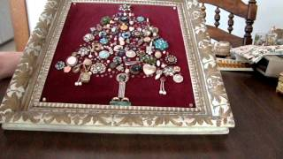Thrift N Pick Country Style Heritage Jewelry Tree Project 8 13 2015