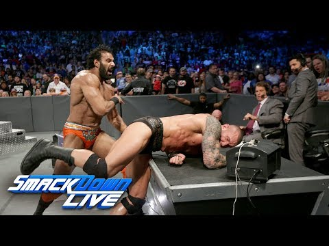 Randy Orton vs. Jinder Mahal: SmackDown LIVE, Aug. 8, 2017