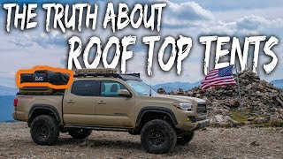 The TRUTH about ROOF-TOP TENT Camping - (watch before you buy, pros and cons) Tacoma Overland