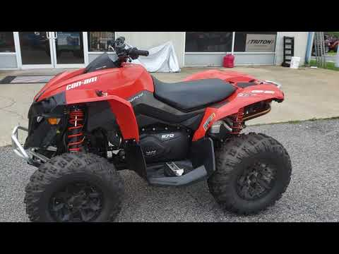 2016 Can-Am Renegade 570 in Saucier, Mississippi