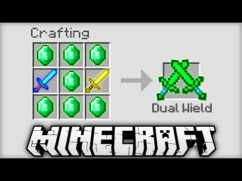 Video NEW CRAFTING RECIPES IN MINECRAFT!?
