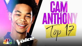 """Cam Anthony Performs Hozier's """"Take Me to Church"""" - The Voice Live Top 17 Performances 2021"""
