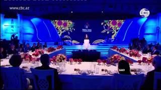 Президент Ильхам Алиев дал прием в честь официальных гостей Евроигр